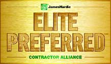 Blue Ridge Exteriors JamesHardie Elite Preferred Contractor