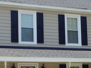 Blue Ridge Exteriors Replacement Window Shutters