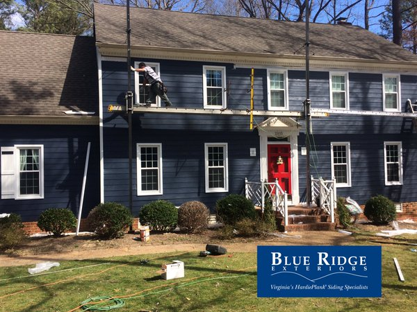 choose Blue Ridge Exteriors over vinyl siding